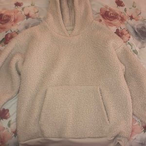 super soft pull over with hood